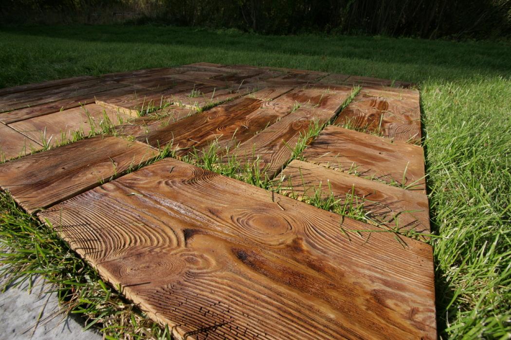 Садовые дорожки из доски своими руками фото 14